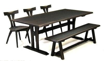 第一産業国産オーダーダイニングテーブルしつらい180ASしつらい(30)DT-F180*95-2+ASしつらいDT-ALお好きなサイズが選べます。面形状3タイプあり塗色は3色(N/M/D)全て受注生産(納期約21日)送料無料(沖縄、北海道、離島は除く)