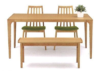 ダイニングテーブルDT51604Q−OM000135cm幅いろいろの椅子と組み合すことができます。