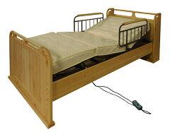 国産の木を飛騨の職人が真心込めて作っ大人気の一品ですひのきの香りが心地よく介護ベッドとし...