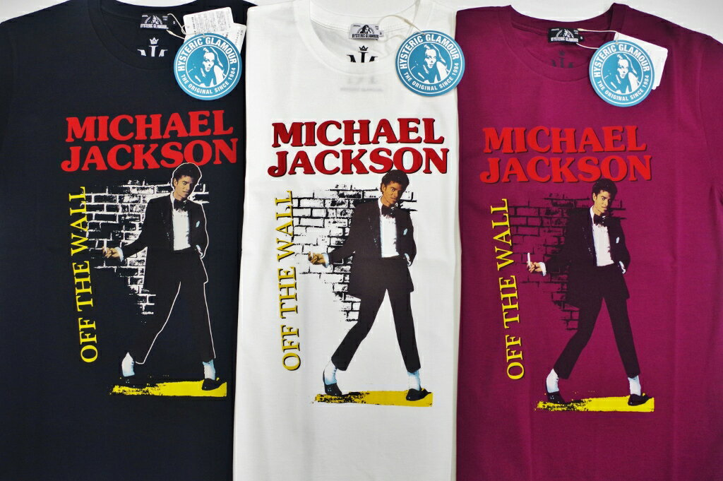 トップス, Tシャツ・カットソー  HYSTERIC GLAMOUR MICHAEL JACKSON OFF THE WALL T02182CT01
