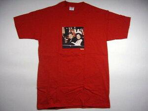 SUPREMEのJFK Tシャツシュプリーム Supreme ケネディ JFK フォト BOX ロゴTシャツ 赤