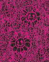 MURAKAMI × MADSAKI(村上隆 マッドサキ)コラボ限定版画「マサキフラワー版画 黒ラメピンク(仮)」 カイカイキキ kaikaikiki TAKASHI MURAKAMI FLOUR