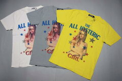 HYSTERIC GLAMOUR ヒステリックグラマー THE ALL HYSTERIC プリントTシャツ