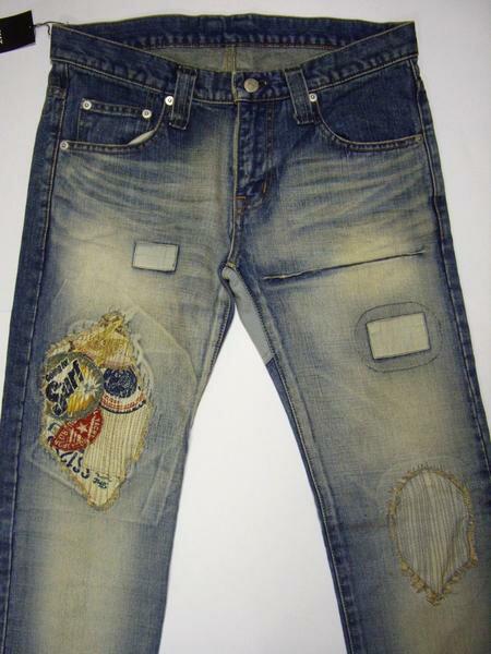 メンズファッション, ズボン・パンツ TMT Surf CRUSH DENIM TAIGHT STRAIGHT