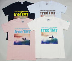 TMTの人気TシャツTMTティーエムティー ラフィー天竺Tシャツ (FREE TMT) Tシャツ