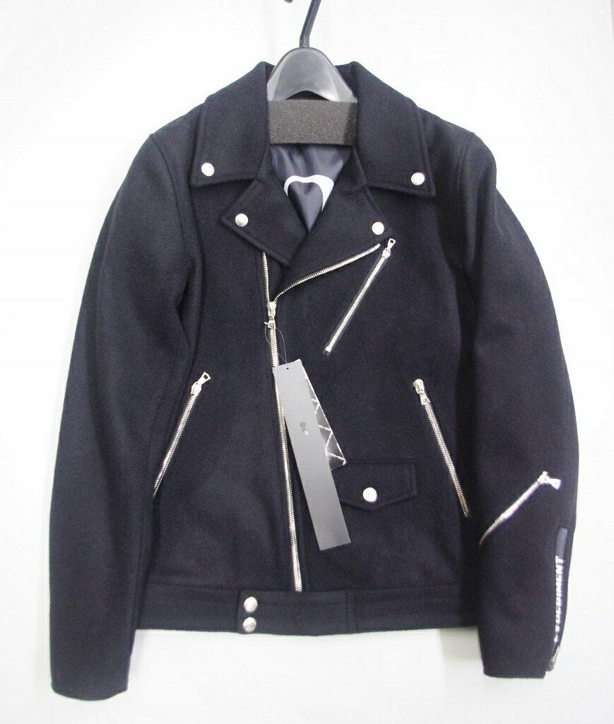 メンズファッション, コート・ジャケット  uniform experiment WOOL MELTON DOUBLE RIDERS BLOUSON