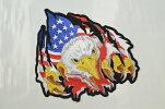 U.S.A直輸入!アメリカンワッペンSKULLワイルドに世界で一つだけのオリジナルJKTが簡単に出来る!!
