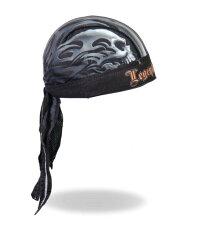 MadeinU.S.A!アメリカで不動の大人気!!ヘルメットを取った後の必需品!!簡単に装着可能!!バンダナキャップ/ヘッドワープ