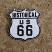PinsUSRoute66ピンズルート66ピンバッジ【ヒストリカル】