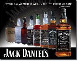 2308JackDaniels-Bottlesジャックダニエルボトルアメリカン雑貨ブリキ看板TinSignティンサイン3枚以上で送料無料!