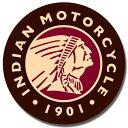 2160Indian Logo Roundインディアン ロゴアメリカン雑貨 ブリキ看板Tin Sign ティンサイン3枚以上で送料無料!