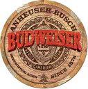 2165Budweiser Barrel Endバドワイザー ロゴアメ...