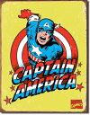 1440Marvel Captain America Retroマーベル キャプテンアメリカアメリカン雑貨 ブリキ看板Tin Sign ティンサイン3枚以上で送料無料!