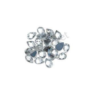 在離線斯通指甲斯通施華洛世奇近的發出光芒,發光的優質的水晶斯通50粒一點糖果型4*6mm指甲藝術指甲用品手工藝用品deko電