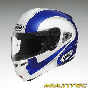 カラー:TC-2ブルー/ホワイト(青白)、サイズ:S(55cm)フルフェイスヘルメットSHOEI(ショウエイ)M...