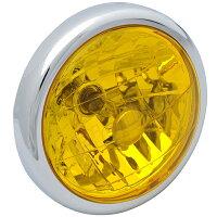 【ヘッドライト】マルチヘットライトイエローレンズモンキーゴリラエイプ50エイプ100ドリーム50専用