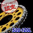 【チェーン】【520-120L】 デスペラード400 バンバン200 CRM125 250TR NC700S DR-Z400 XJR400 GSX-R1000 250SB GPZ400 グラディウス 400 GSR250 CBR929RR RGV250γ CBR900RR ゼルビス DT200R XR250 モタード SL230 NSR150 SG350 グース レブル SG250
