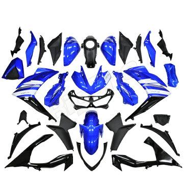 【訳あり】【カウル セット】 YZF-R3 EBL-RH07J YZFR3 R3 青/黒 外装セット カウル 外装 フェンダー フロントフェンダー フロントカウル サイドカウル インナーカウル インナーカバー ブルー ブラック【新品未使用】
