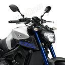 ミラー MTミラー VMAX1200 ブロンコ MT-03 XJR400 XJR1300 トリッカー セロー225W ビラーゴ250 RZ350 ドラッグスター250 MT-09 SR400 SRX400 TW200 R1-Z XS250 3