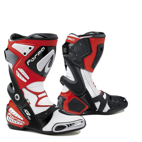 バイクウェア・プロテクター, ブーツ FORMA ON ICE PRO BOOT RED 42 (26.5cm)