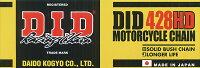 【チェーン】DID428HD-150RBスタンダードスチール428-150