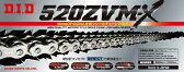 【ポイント10倍】【チェーン】 DID 520ZVM-X-110ZB S&S シルバー チェーン 520-110
