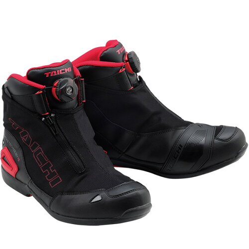 RS TAICHI RSS008 BOA WRAP AIR RIDING SHOES ブラック/レッド 黒/赤 BLACK/RED 28.0c...