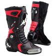 【ブーツ】【Xpd】 XPN018 XP-3S レーシングブーツ BLACK/RED ブラック/レッド 黒/赤 25.0cm (40) エックスピーディー RACING BOOT シューズ SHOES