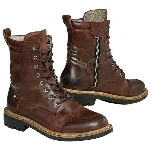 【ブーツ】【Xpd】 XPN023 X-NASHVILLE ライディングブーツ BROWN ブラウン 茶 26.5cm (42) エックスピーディー X-ナッシュビル サイドジップ サイドジッパー レザー STREET BOOTS ストリートブーツ シューズ SHOES