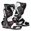 【シューズ】【SIDI】 RACING VORTICE AIR BOOT ホワイト/ブラック WH/BK 45 (28.0cm) シディ ヴォルティス エアー レーシング ブーツ 靴 シューズ