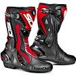 【送料無料】【ポイント10倍】【シューズ】【SIDI】 RACING ST BOOT ブラック/レッド BK/RED 40 (25.5cm) シディ エスティー レーシング ブーツ 靴 シューズ