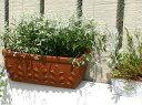 植木鉢 ローマン プランター 47cm イタリア製 テラコッタ 陶器鉢 デローマ社*Italian Terracotta*