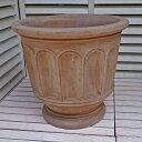人気のベトナム鉢 フィリー (ショコラ)L47 テラコッタ ヨーロピアン 植木鉢 素焼き鉢 陶器鉢 オリーブ ブルーベリー 園芸 ガーデニング 大型 本場ヨーロッパ風ガーデン おしゃれ プランター