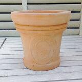 植木鉢 ミータム テラコッタ色 23cm FEI-SB-16-004 おしゃれ ヨーロピアンなテラコッタ アンティーク風 陶器鉢 ベトナム鉢 素焼き鉢 園芸 ガーデニング プランター