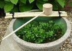 〜和風庭園を求めて〜 竹製ひしゃくセット 15〜17号用 睡蓮鉢やつくばいにどうぞ 園芸 ガーデニング 和風庭園を演出する睡蓮鉢。その飾りつけに欠かせない柄杓セットです。