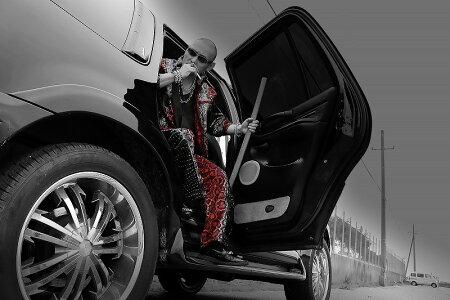 赤蛇総柄切替長袖セットアップジャージ服オラオラ系悪羅悪羅系ヤクザヤンキーチョイ悪チョイワル派手メンズファッション