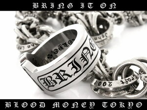 【MBT-12053】サージカルステンレスリング◆メンズリング/指輪/SUS316L/プレゼントにも■小物アクセサリーホストメンエグメンナクギャルオ伊達ワルサーフ悪羅悪羅系Souljapanソウルジャパンオラオラ系お兄系