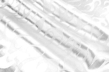 フレア柄 スタンドカラードレスシャツ 白 服 オラオラ系 悪羅悪羅系 ヤクザ ヤンキー チョイ悪 チョイワル 派手 メンズ ファッション