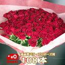 プロポーズ 花束 バラ 108本</br></noscript> 国産品【高品質 60センチバラ】