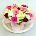 フラワーケーキ ピンクケーキ 【結婚祝い 花】【誕生日 花】【ケーキフラワー】