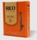 【定形外発送】RICO リコ / バス クラリネット リード 10枚入り