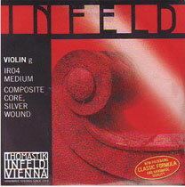 【メール便で送料無料!】Thomastik-Infeld/INFELDREDインフェルトレッドバイオリン弦4/4サイズ用Set弦【smtb-tk】