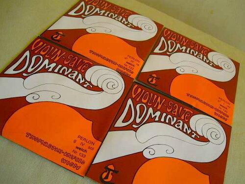旧パッケージ・大特価品!Thomastik-Infeld/DOMINANT・ドミナントWeichバイオリン弦4/4サイズ用Set弦【smtb-tk】