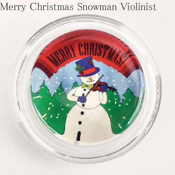 バイオリン用アクセサリー・パーツ, メンテナンス用品  MAGIC ROSIN Merry Christmas Snowman Violinist 100