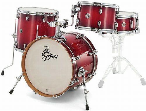 ドラム, ドラムセット GRETSCH CT1-J404-GCB GLOSS CRIMSON BURST 4 Catalina Club Series