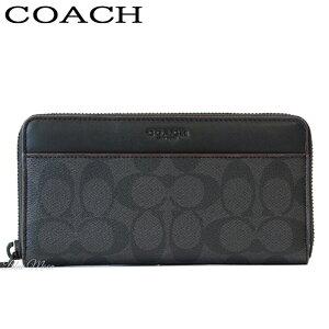 a341c6140225 コーチ(COACH). コーチ COACH 長財布 メンズ ブラック オックスブラッド F25517 ...