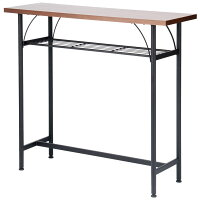 カウンターテーブル高さ90cmバーテーブルハイテーブルPCテーブルテーブル机インダストリアルウォールナットTAM-TT