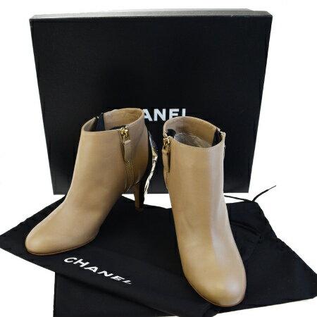 レディース靴, ブーティ  CHANEL 34.5C 21.5cm 17BC307