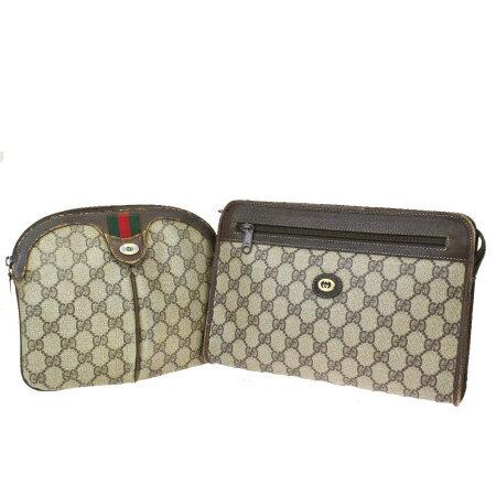 レディースバッグ, クラッチバッグ・セカンドバッグ  2 GUCCI GG PVC 61SB235