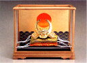 端午の節句 五月人形■ 黄金兜 徳川家康 ガラスケース入 ■瑞鳥...